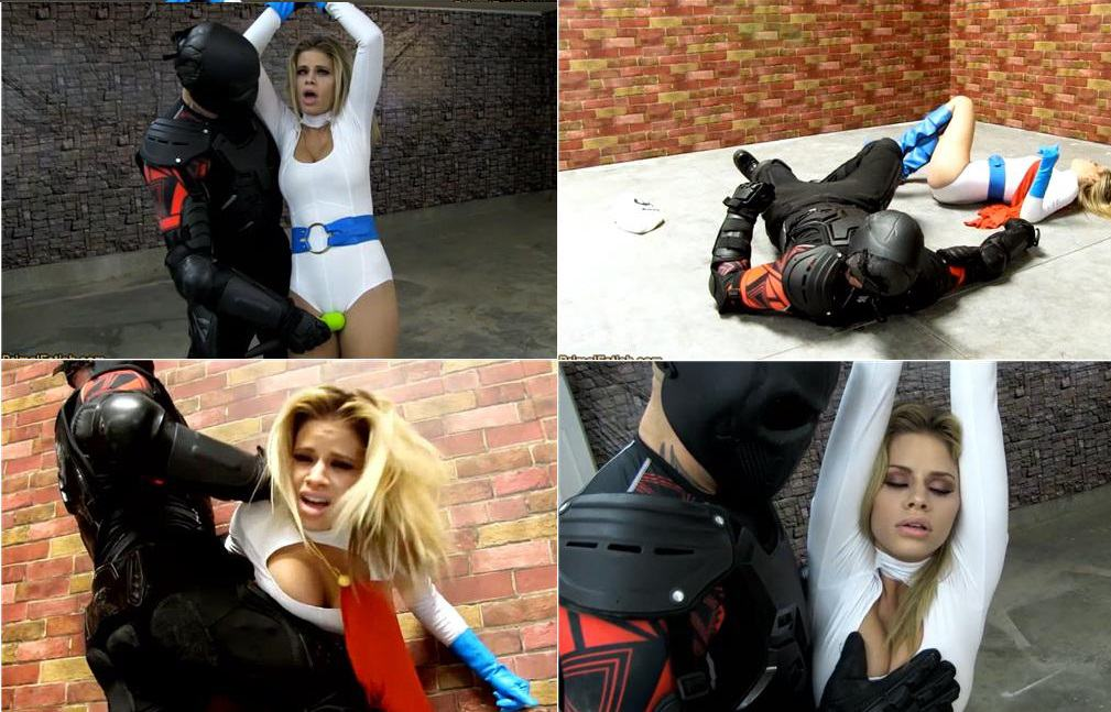 Primal's SUPERHEROINE SHAME - Jessa Rhodes - Power Girl