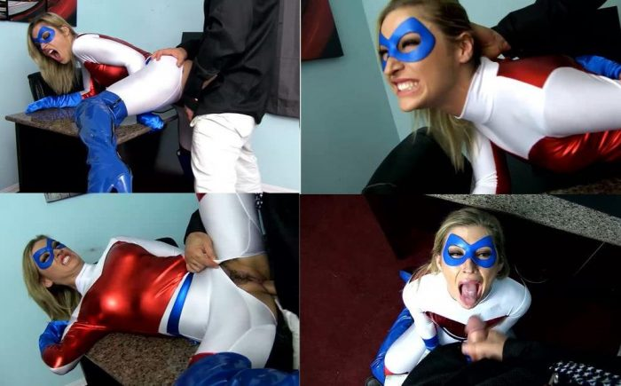 SUPERHEROINE SHAME Super Patriot - Oculus Sees Your Weakness