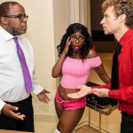 Michael Vegas, Daizy Cooper – Daddy's Perfect Darling – Fuck My New Ebony stepdaughter SD mp4 2019