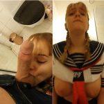 Swedish Snapchat Sex – Schoolgirl Sister gets creampied in bathroom – Amadani SD mp4 2019