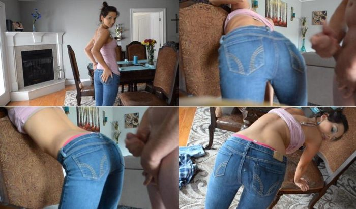 Manyvids Porn Ashley Sinclair - Daddy cum on my ass jeans SD mp4