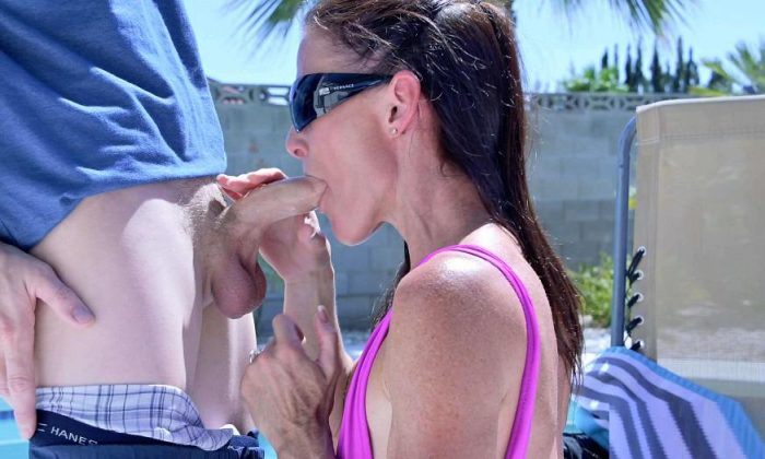 Manyvids Taboo - Sofie Marie - Seducing the pool boy 4k Porn