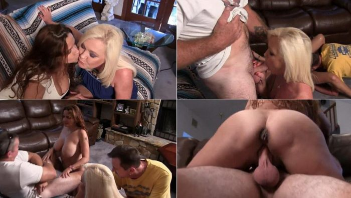 These MILFs Love Pussy and Cock - Paris Rose - group sex FullHD avi 1080p
