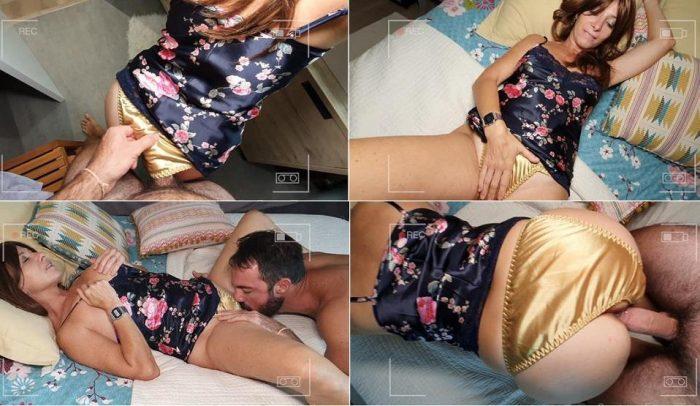 Panties Custom Clip Silky satin panty mania