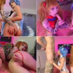 Zirael_Rem – Asuka and Rei get fucked by guys – Polish Cosplay Porn FullHD mp4