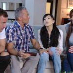 Family Orgy – Foster Daughter – Becky Bandini, Judy Jolie HD 2020