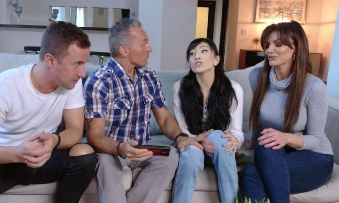 Family Orgy - Foster Daughter