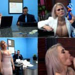 Amateur Boxxx – Cascaakashova – Employee TRAINS his BIG BOOBED BOSS FullHD