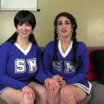 Manyvids Arabelle Raphael, Larkin – cheerleader sisters suck cock SD