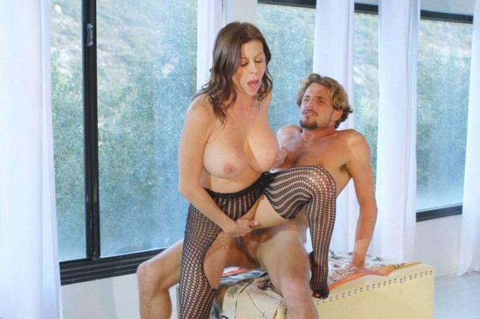 Big Tit Mom Seduces Son