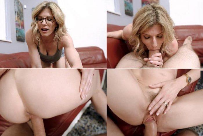 Brunette Step Mom Big Tits