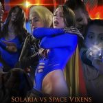 Coco and Belle Fatale Solaria vs Space Vixens from The Battle for Earth FullHD mp4