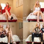 The Cumplete Step-Mommy Step-Sister Series – Goddess Stella Sol and Queen Jennifer Marie FullHD