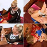Superheroines porn – SuperGirl Caught Lesbian SuperSlave Cosplay Special FullHD