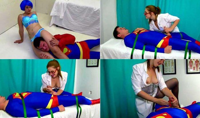 Superman Milked and Immasculated - Savannah Foxx - Primal's Darkside Superheroine HD wmv