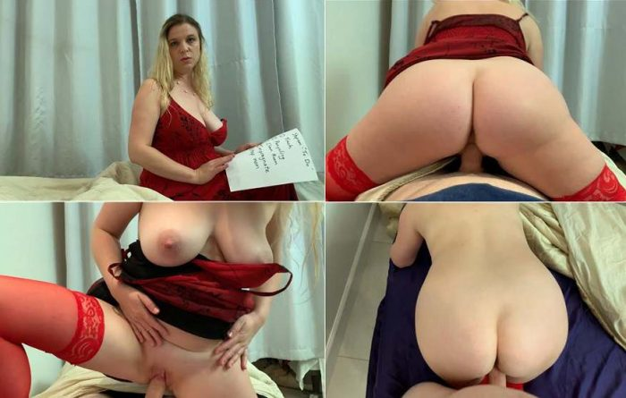 Stepmom wants his cum to get pregnant FullHD 2020