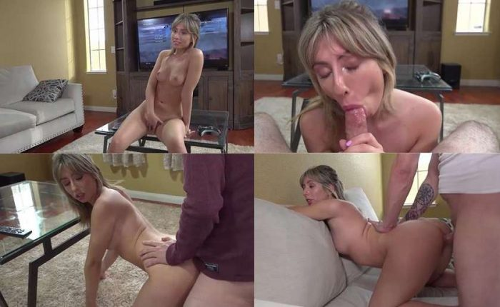 Sister dare will do anything to get to California even Fuck her Step Bro HD 720p