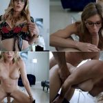 Jerky Wives – Cory Chase in Home Alone With My Step Mom While Dad is At Work – Dad Will Be Home Soon 720p 2020