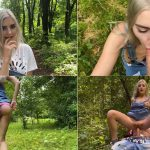 Family Walking with cum in panties after risky public sex with My Sister – Eva Elfie 1080p 2020