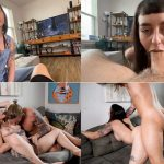 Seduced by my Slutty Stepsister – She Gets an Anal Creampie – Ava DAmore FullHD 1080p