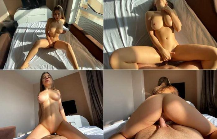 Stepsister with Nice Big Tits Seduced me and Fuck POV - Lolly_lips FullHD 1080p