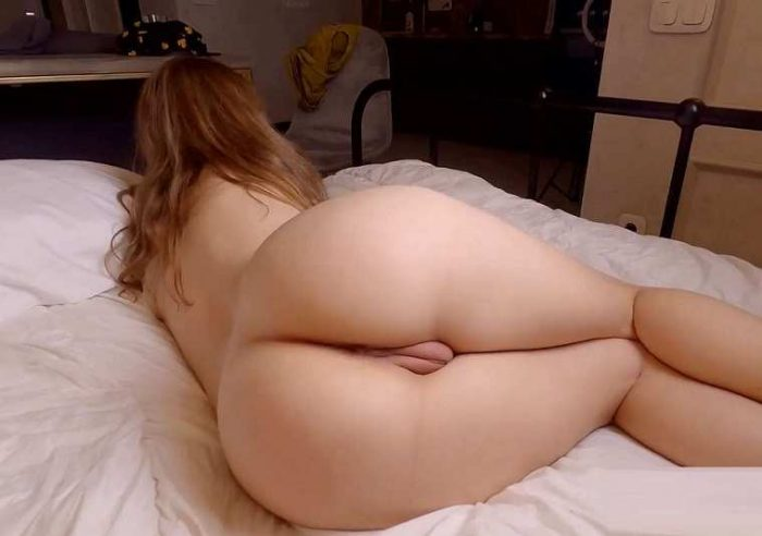 licked her ass