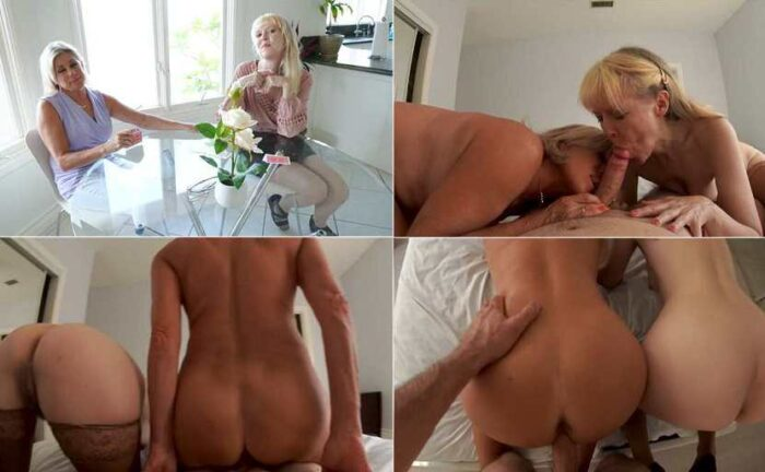 Payton Hall & Jamie Foster - Grandma's Friend Fuck Me with My Grandmommy HD 720p