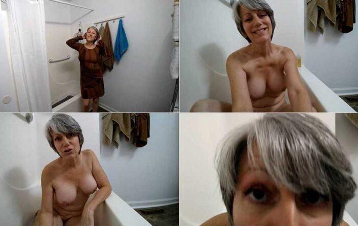MoRina - Nanny MoRina Bath and BJ - nude naked, hairy pussy FullHD 1080p