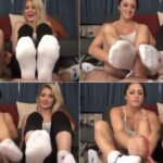 Bratty Babes Own You Maia Evon, Cleo – Babysitter Footjob Compromise FullHD 1080p
