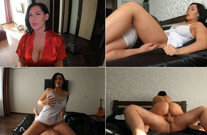 Russian Hot Mommy - Good Step Mom Checks if Step Son`s Cock Works FullHD 1080p