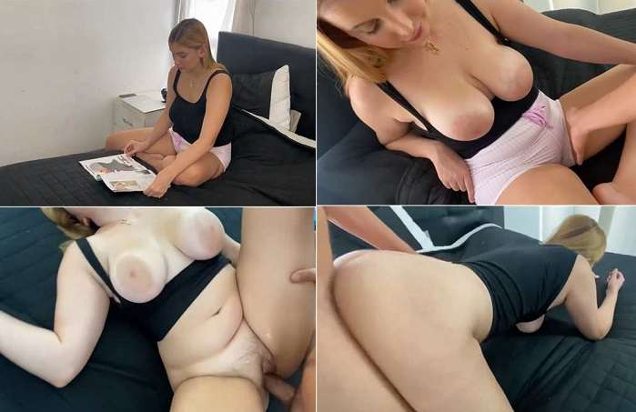 Baby Montana - Teen Gets Penetrated by her Horny Step Father HD 720p