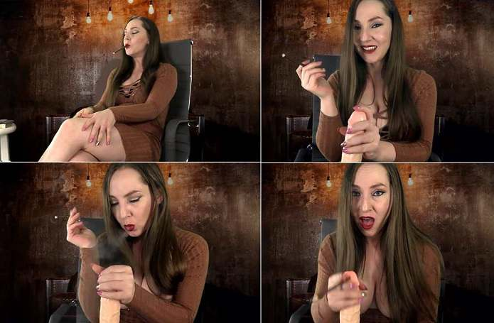 Kinky Kristi - Mommy's Smoking Handjob and Cumshot with More 100s FullHD 1080p