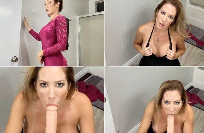Capri Cavanni - Naughty Stepmom Has Some Oral Fun With Her Stepson FullHD 1080p
