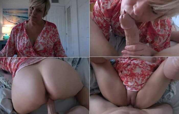 Step-Mom Comes First Brianna Beach - Introduction to Manhood FullHD 1080p