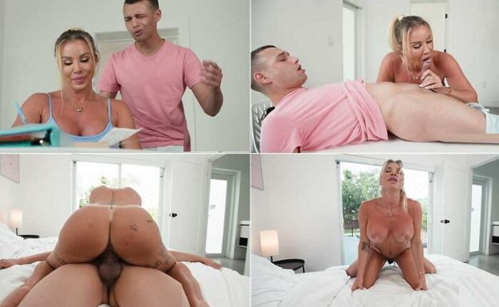 Robbin Banx - Son Quiz For Mommy`s Tits! FullHD 1080p