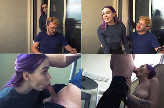 Toma Mur - Step Sister Learns to do Blowjob FullHD 1080p